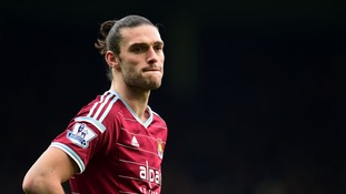 West Ham striker Andy Carroll ruled out until next season