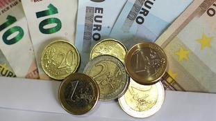 The Euro is the weakest it has been for seven years.