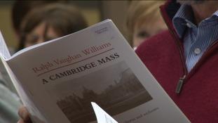 Choir song book, A Cambridge Mass