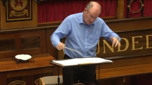 Andrew Millington, Director of music at the Cathedral and for the Philharmonic Choir