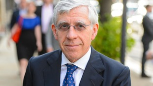 Jack Straw arriving at the Labour Summer Party at the Roundhouse, in Camden, north London in 2014.
