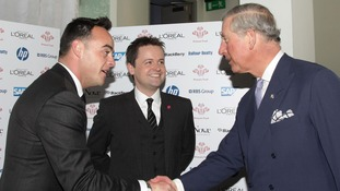 Ant&Dec will film with Prince Charles for ITV documentary.