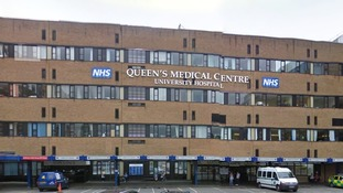 Nottingham's Queen's Medical Centre.