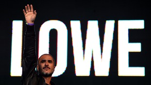 Zane Lowe performs on stage during Radio 1's Big Weekend in Glasgow last year.