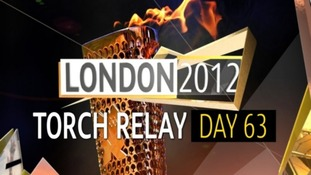 Olympic Torch Relay : Day 63