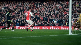 Olivier Giroud ends Boro's FA Cup hopes with two early goals for Arsenal.