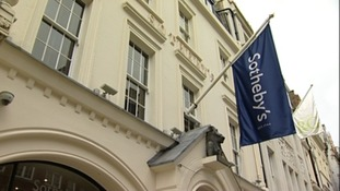 Sotheby's in London