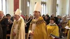 Bishop of Burnley installation.