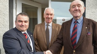 From left: Mark Barrett (Armed Forces Community Engagement Officer), Cllr Gordon Nicolson (Eden District Council Leader), Cllr Malcolm Temple (Armed Forces Champion, Eden District Council)
