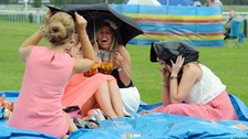 Newcastle Racecourse bans picnics over health and safety.