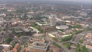Coventry from the sky