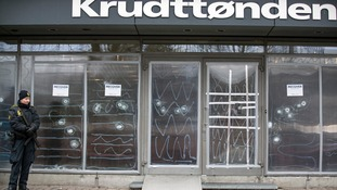 The Krudttonden cafe - scene of the free speech event that came under attack.