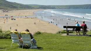 Woolacombe Bay has been voted the best beach in the UK, and 13th best in the world