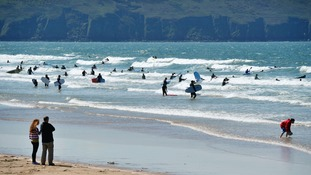 Woolacombe came ahead of beaches in Aruba, Thailand and New Zealand to claim its spot as 13th in the world