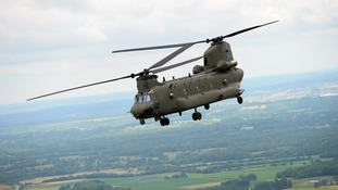A £420m deal has been signed to service the RAF's Chinook helicopters