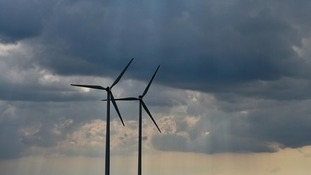 The Sandy Knowe Wind Farm has not been given planning permission