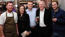 The Stein dynasty, from left, Jack, Jill, Charlie, Rick and Edward