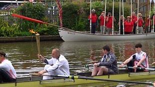 Redgrave in a boat