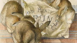 Beatrix Potter watercolours go under the hammer