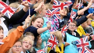 Olympic Torch Returns to Wiltshire