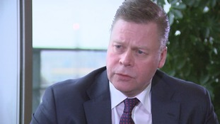 Centrica group chief executive Iain Conn speaks to ITV News.