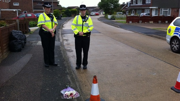 Police cordon remains in place