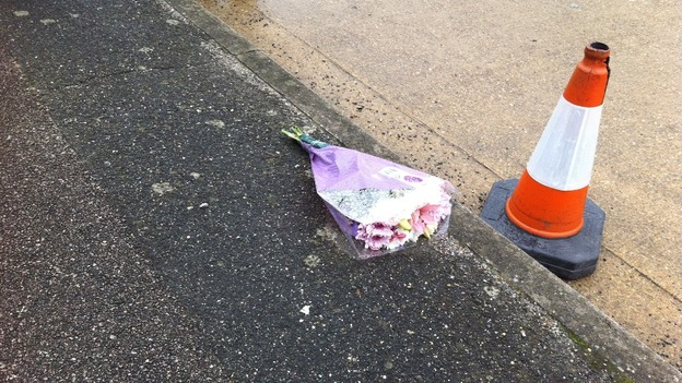 Tributes are left for Pc Ian Dibell