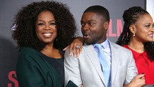 Oprah Winfrey, David Oyelowo and Ava Duvernay.