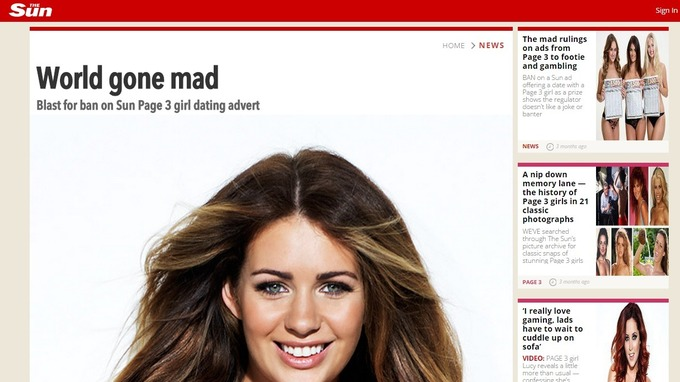 The Sun said the ruling was the world gone mad
