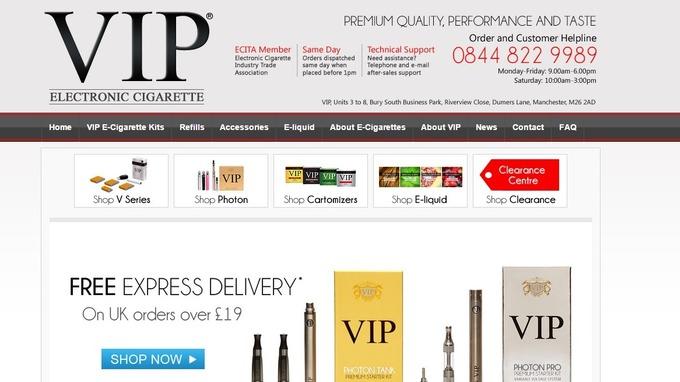 The complaint against VIP e-cigarettes was upheld