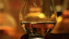 60 bottles of whisky were stolen from a lorry in Gretna