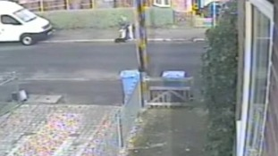 Still from CCTV video