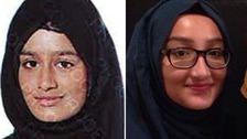 Shamima Begum, 15 (left), and Kadiza Sultana, 16 (right).