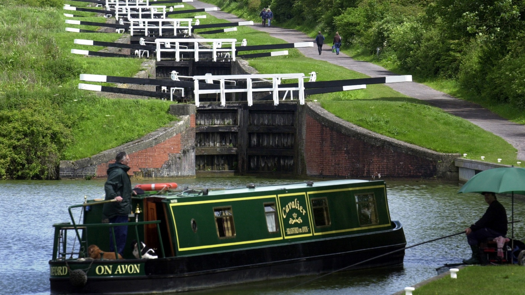 Canal S Fish To Be Moved For Lock Repairs West Country