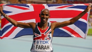 Mo Farah is launching the Anniversary Games