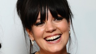 Lily Allen reported an online spat with a man claiming to be a serving soldier.