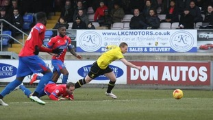 League Two round-up: Burton top after win over Dagenham