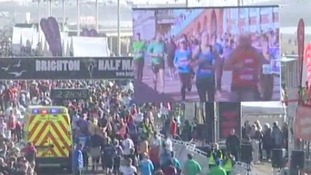 Brighton Half Marathon in 2014