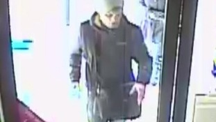 CCTV images, Wigton theft