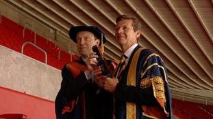 Former Olympic athlete awarded Honorary Fellowship