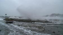Isle of Whithorn flooding