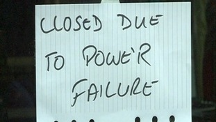 Power loss sparks anger