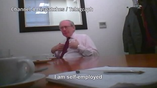 Sir Malcolm Rifkind admitted his claim to be self-employed was a