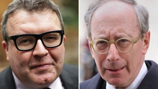 Tom Watson (left) and Malcolm Rifkind (right).