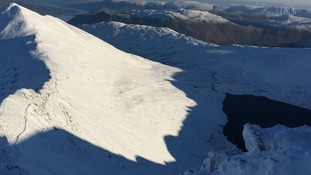 Man survives 200 metre fall from Helvellyn