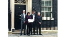 The Turing family at Downing Street