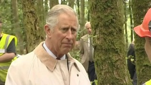 Prince Charles in Llandovery