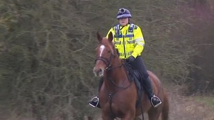 Fighting countryside crime on horseback