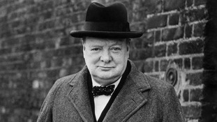 File photo dated circa 1940 of Sir Winston Churchill
