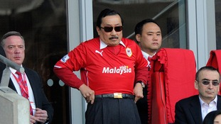 Cardiff board including owner Vincent Tan boycott Wigan match over racism row